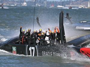 Oracle Team Usa ha vinto la 34a America's Cup